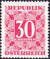 Austria 1949 Postage Due Stamps - Square frame with digit (1st Group) f.jpg