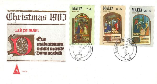 Malta 1983 Christmas g
