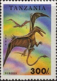 Tanzania 1994 Prehistoric Animals g