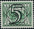 Netherlands 1940 Numerals - Stamps of 1926-1927 Surcharged b.jpg
