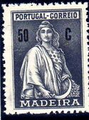 Madeira 1929 Ceres (London Issue) k