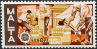 Malta 1976 Europa b