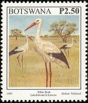 Botswana 1997 Birds p