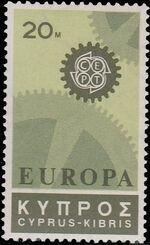 Cyprus 1967 Europa-CEPT a
