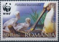 Romania 2006 WWF Eurasian Spoonbill a