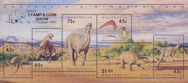 Australia 1993 Australia's Dinosaur Era i