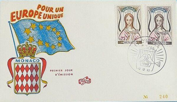 Monaco 1963 Europa k