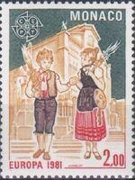 Monaco 1981 EUROPA - Folklore b