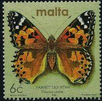 Malta 2002 Butterflies and Moths e
