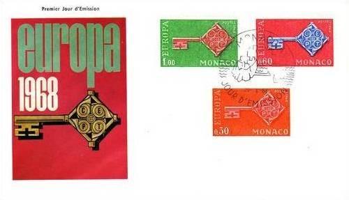 Monaco 1968 Europa g