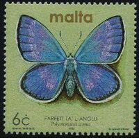 Malta 2002 Butterflies and Moths f