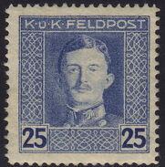 Austria 1917-1918 Emperor Karl I (Military Stamps) j