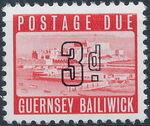 Guernsey 1969 Castle Cornet and St. Peter Port c