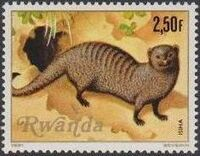 Rwanda 1981 Carnivorous Animals d