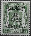 Belgium 1938 Coat of Arms - Precancel (2nd Group) e.jpg