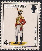 Guernsey 1974 Military Uniforms Definitive Issue h