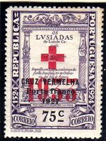 Portugal 1933 Red Cross - 400th Birth Anniversary of Camões d