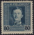 Austria 1917-1918 Emperor Karl I (Military Stamps) o.jpg