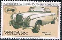 Venda 1986 FIVA World Classic Car Rally d
