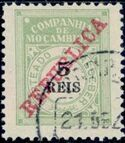 "Mozambique Company 1911 Postage Due Stamps Overprinted ""REPUBLICA"" a"