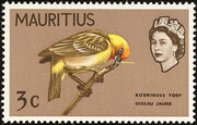 Mauritius 1965 Birds in Natural Colors b