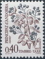 Andorra-French 1985 Flowers (Postage Due Stamps) d.jpg