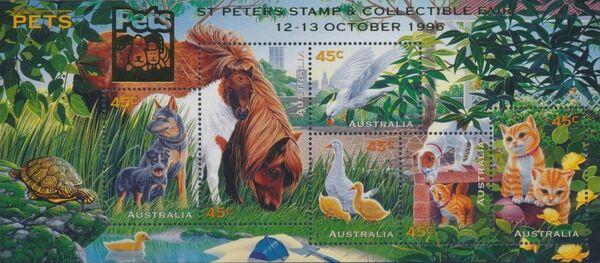 Australia 1996 Pets n