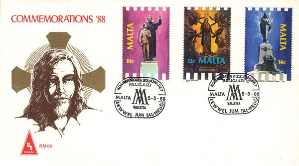 Malta 1988 Anniversaries and Events g