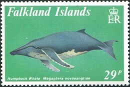 Falkland Islands 1989 Whales c