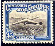 Mozambique Company 1935 Inauguration of the Airmail (2nd Issue) g