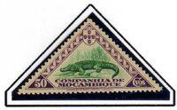 Mozambique company 1937 Assorted designs i