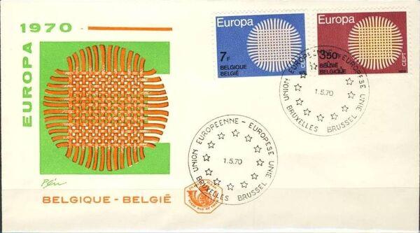 Belgium 1970 Europa i