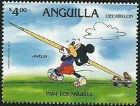 Anguilla 1984 Olympic Games Los Angeles i