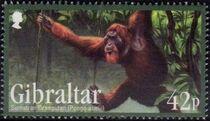 Gibraltar 2011 Endangered Animals e