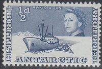 British Antarctic Territory 1963 Definitives a