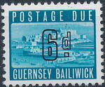 Guernsey 1969 Castle Cornet and St. Peter Port f
