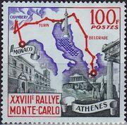Monaco 1959 28th Monte Carlo Automobile Rally a