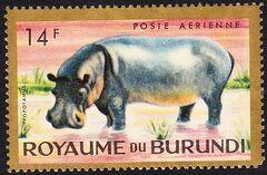 Burundi 1964 Animals d