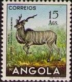 Angola 1953 Animals from Angola s