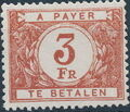 Belgium 1946 Postage Due Stamps (Digit on White Background) a.jpg