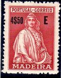 Madeira 1929 Ceres (London Issue) t