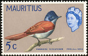 Mauritius 1965 Birds in Natural Colors d
