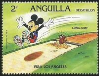 Anguilla 1984 Olympic Games Los Angeles b