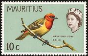 Mauritius 1965 Birds in Natural Colors e