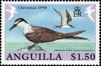 Anguilla 1990 Christmas - Birds c
