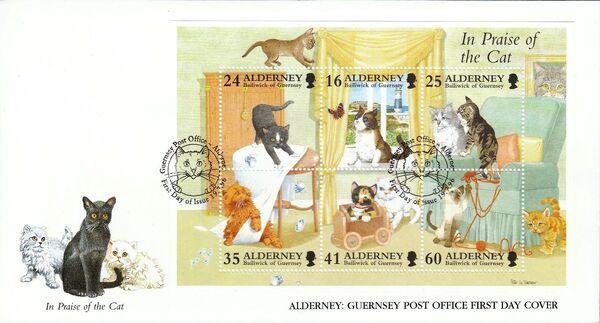 Alderney 1996 In Praise of the Cat j