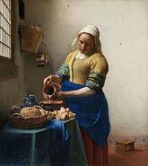 300px-Johannes Vermeer - Het melkmeisje - Google Art Project