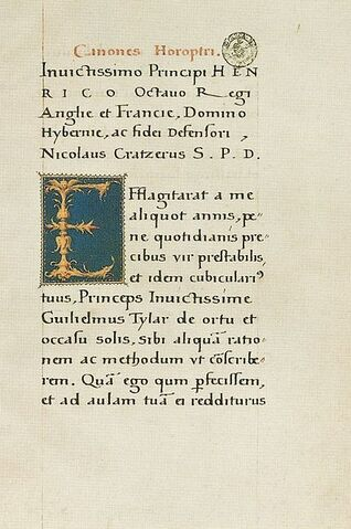 File:398px-Illuminated Letter by Hans Holbein the Younger and Peter Meghen.jpg
