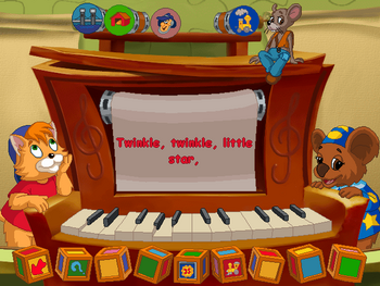 Image of Player Piano.