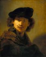 Rembrandt self-portrait